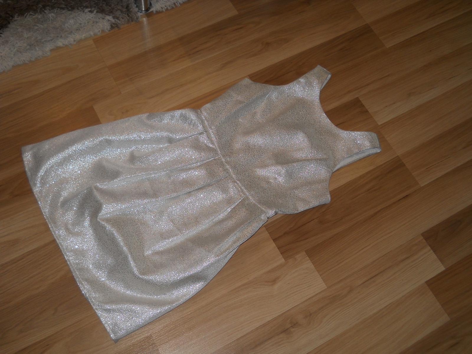 Strieborné šaty - Obrázok č. 1