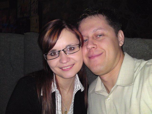 Lucka a Peťko 5.9.2009 - no a my dvaja pekne spolu :)))