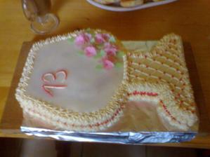 podobná bude i svatební - dílo mé sestry:-)