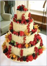 Letní svěží dort