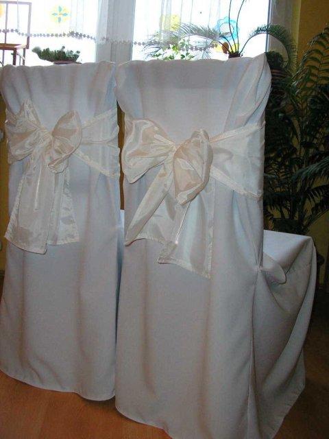 Inšpirácia - Kati - na stoličky návelky, ale bez mašle!...