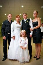 môj brat s manželkou a Vaneskou