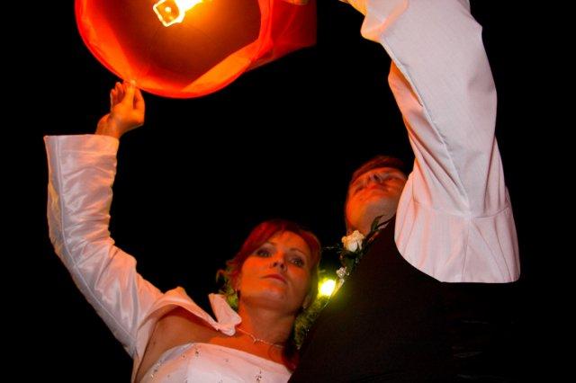Katka Lednická{{_AND_}}Milan Čelko - púšťali sme aj balóniky šťastia:-)