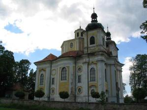 Skvostný kostel v Nicově, zde se budeme brát
