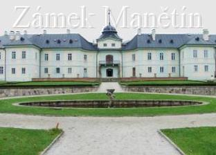 Tak tady se to všechno odehraje, zámek v Manětíně