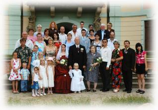 Všichni naši svatebčané