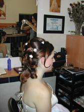 Vlásky nevěsty:-)