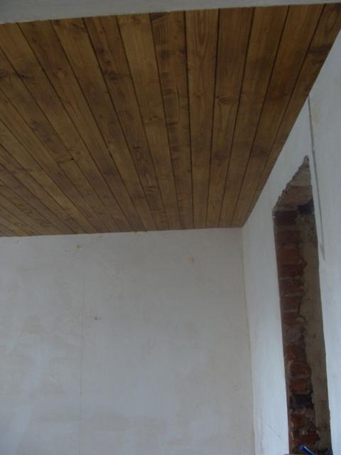 Domov - Palubky natrené lakom dub antik