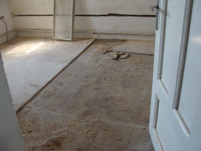Domov - Odkrývame starú podlahu