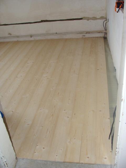 Domov - Podlaha položená