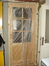 Dvere namontované