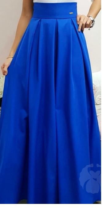Nová dámska spoločenská sukňa, veľ. 44 - Obrázok č. 1