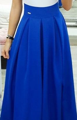 Nenosená dámska spoločenská sukňa, veľ. 44 - Obrázok č. 3