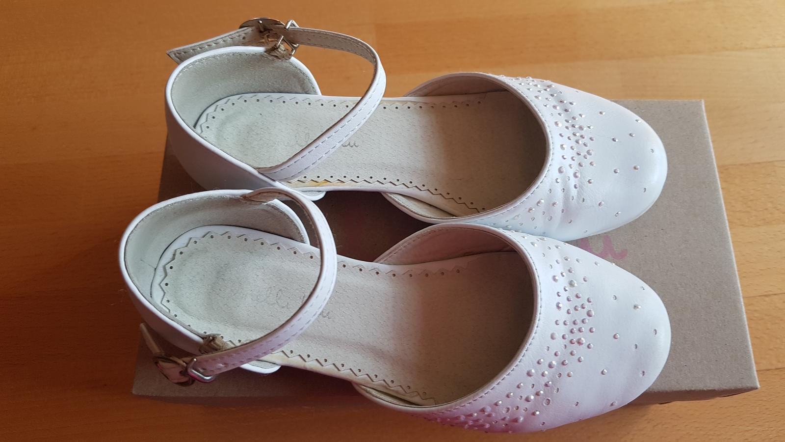 Dievč. topánky na 1.sv.príjímanie, svadbu s poštou - Obrázok č. 1