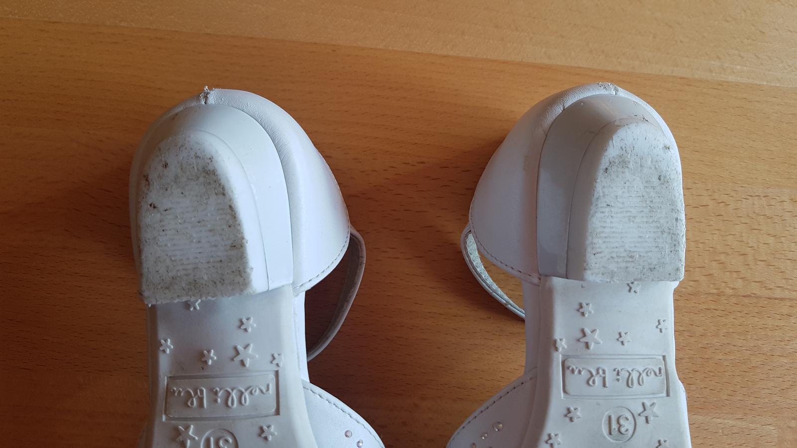 Dievč. topánky na 1.sv.príjímanie, svadbu s poštou - Obrázok č. 2