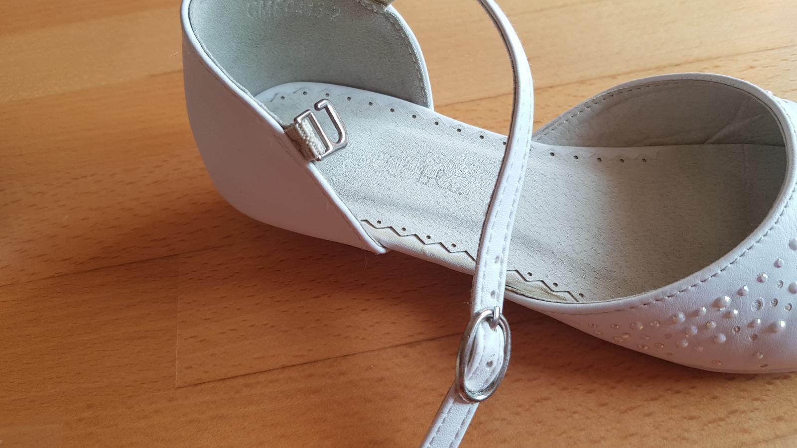 Dievč. topánky na 1.sv.príjímanie, svadbu s poštou - Obrázok č. 3