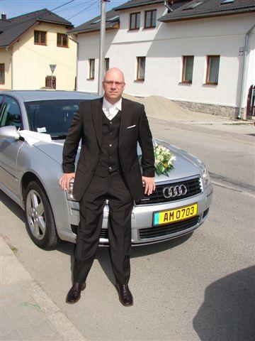 Lucia Kostanova{{_AND_}}Günther Cuypers - A moj nastavajuci pri nasom svadobnom avetku :-)