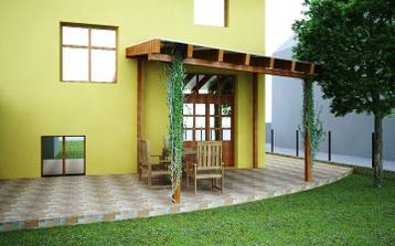 terasa...návrh od architekta