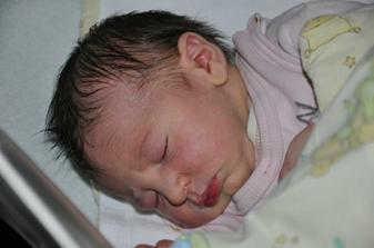 Náš poklad Nelinka 6.2.2011