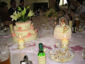dortíky a výzdoba