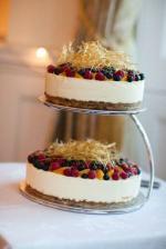 cheesecake jako svatební dort...