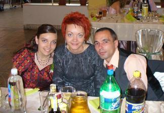 Moje dve spevacky, Darina a Jarka, s Džairom