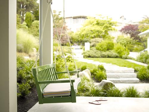 INSPIRACE - Na verandu houpačku :-)