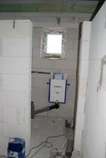WC v podkroví