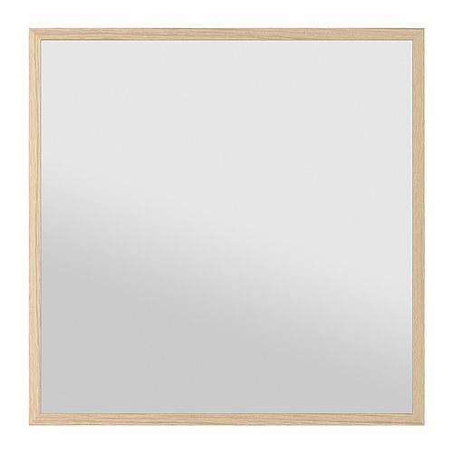 Koupelny - Ikea Stave - zrcadlo, bříza