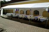 velké svatby s odpolední sezením venku