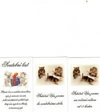 Svatební list a pozvánky ke stolu.