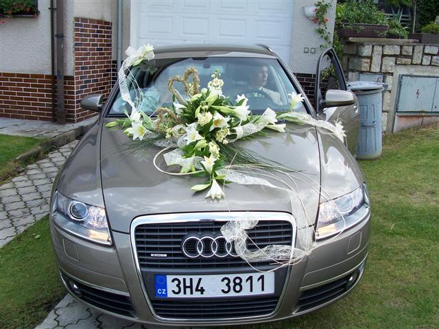 Vyzdoby svadobných  áut - Obrázok č. 15
