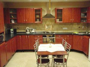 naša kuchyňa, foto ešte bez lustra