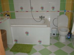 vaňa a WC