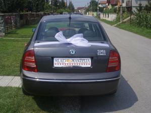 zadná časť auta