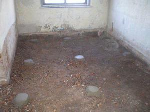 Připraveno pro betonování - obývák