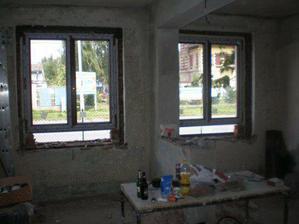 Konečně nová okna - 1/2 červenece 2007
