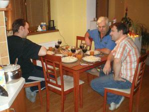 Před Štědrovečerní večeří