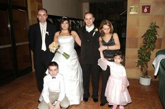 Julkova sestra s rodinkou