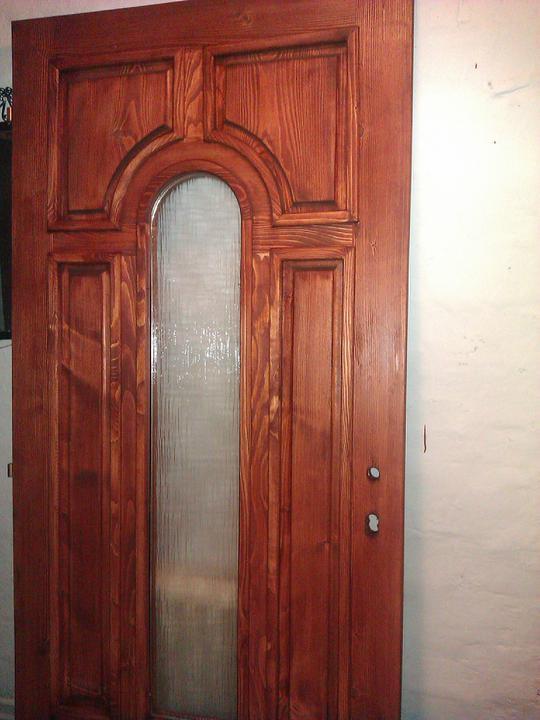 Nove vchodové dveře - nové vchodové dveře,ještě nemáj koupené kování