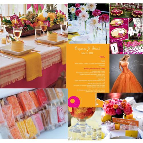 Veselá svatba v růžovo - oranžovo - žluté - Obrázek č. 8