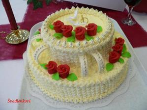 a náš dort
