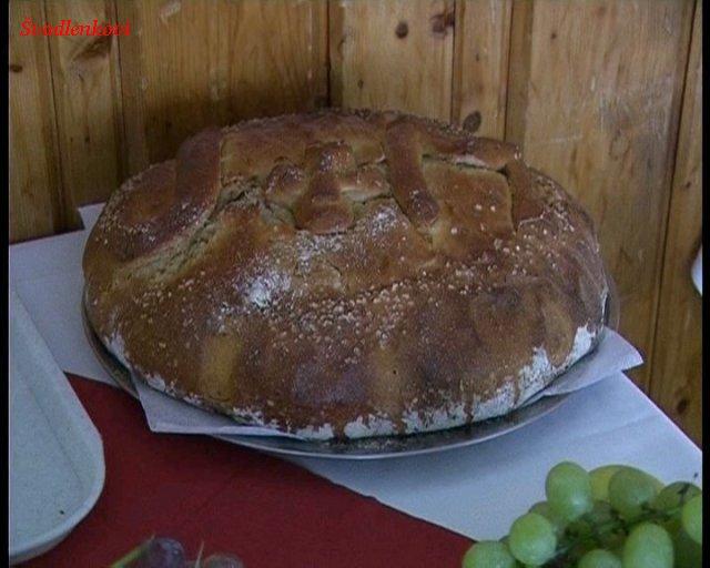 Naše přípravy do vínova - chleba od pekaře Pecky