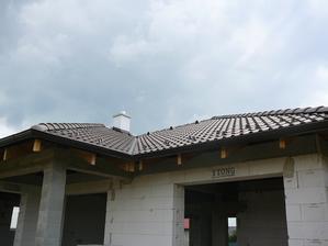 28.6.2013 piatok strecha dokoncena