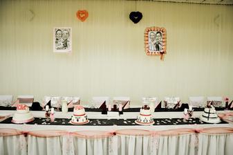Hlavný svadobný stôl