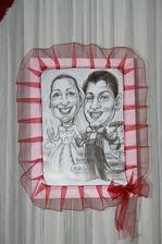 Svadobné karikatúry - Veronika a Zdenko :-)