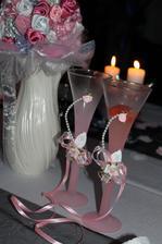 Svadobné poháre - D&M