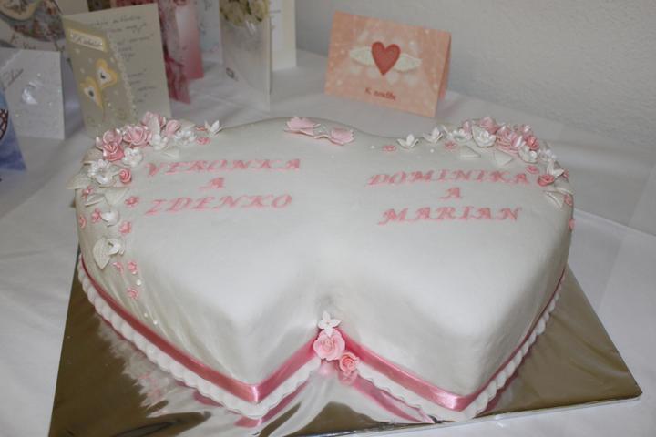Tortičky z našej svadbičky :-) - Obrázok č. 6