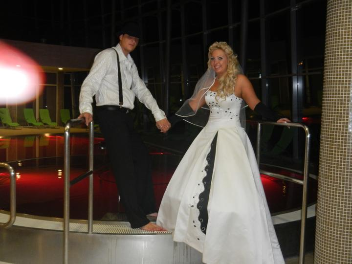 Skrátené videoukážky z našej svadby a svadobný wellnes :-) - Obrázok č. 2