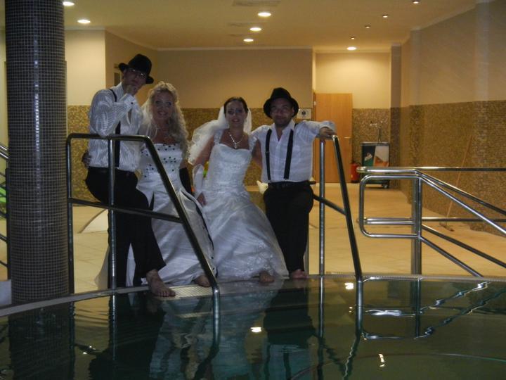 Skrátené videoukážky z našej svadby a svadobný wellnes :-) - Obrázok č. 7